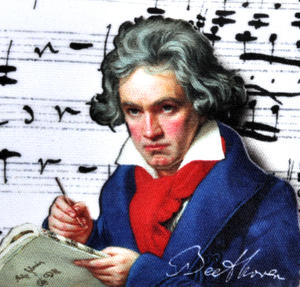 Beethoven Glasses Case with Lens Cloth Thumbnail 5