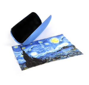 Vincent Van Gogh - Starry Starry Night - Glasses Case with Lens Cloth Thumbnail 2