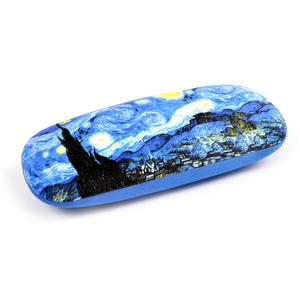 Vincent Van Gogh - Starry Starry Night - Glasses Case with Lens Cloth Thumbnail 3