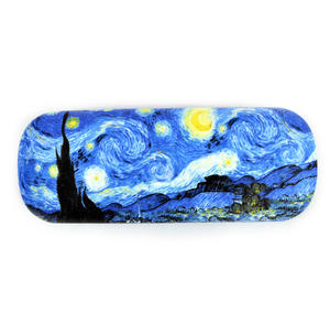 Vincent Van Gogh - Starry Starry Night - Glasses Case with Lens Cloth Thumbnail 4