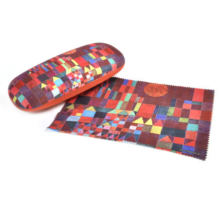 Paul Klee - Castle and Sun Glasses Case with Lens Cloth