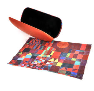 Paul Klee - Castle and Sun Glasses Case with Lens Cloth Thumbnail 2