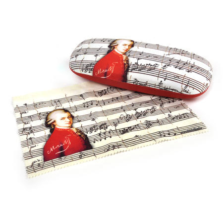 Mozart Glasses Case with Lens Cloth