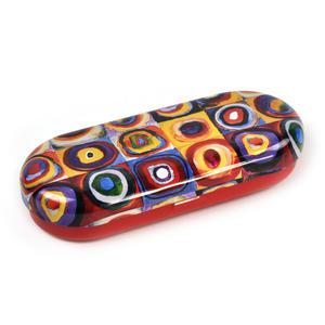 Kandinsky - Colour Study Squares - Glasses Case Thumbnail 3