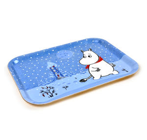 Moomin Sunset Swim - Moomin Birch Wood Tray 27 x 20cm Thumbnail 2