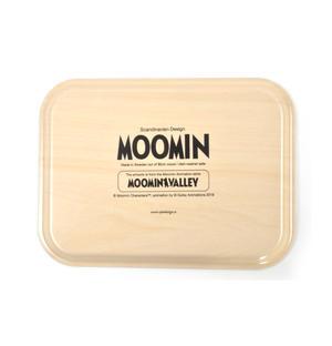 Moomin Sunset Swim - Moomin Birch Wood Tray 27 x 20cm Thumbnail 3