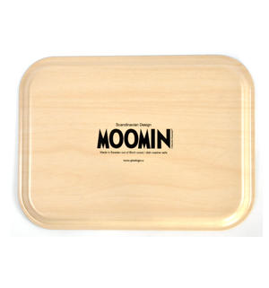 Moomin Sunset Swim - Moomin Birch Wood Tray 27 x 20cm Thumbnail 3