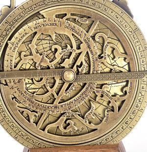 Oriental Astrolabe - Hemispherium Replica Antique Scientific Instrument Thumbnail 2