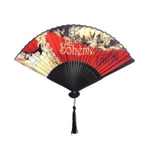 La Bohème Hand Fan  - Puccini's Opera La Boheme Fan in Case