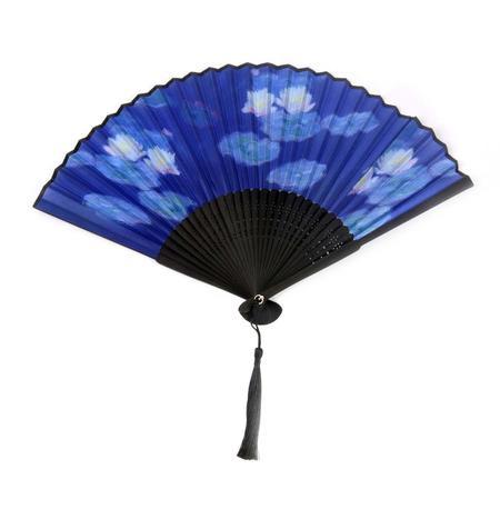 Claude Monet Hand Fan  - Monet's Water Lillies Fan in Case