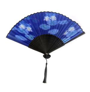 Claude Monet Hand Fan  - Monet's Water Lillies Fan in Case