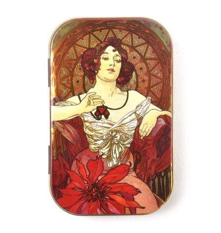 Jacqueline Art Nouveau Art Box - Secret Stash Box
