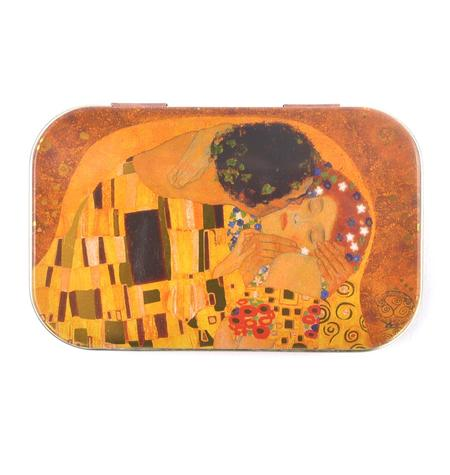 Gustav Klimt Art Box - Secret Stash Box  - The Kiss