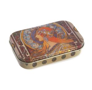 Art Nouveau Art Box - Secret Stash Box- Alphonse Mucha - Zodiac