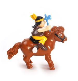 Clockwork Horse Riders - Random Designs - Wind Up Cowboy, Indian or Jockey - Mini Rider Thumbnail 5