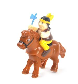 Clockwork Horse Riders - Random Designs - Wind Up Cowboy, Indian or Jockey - Mini Rider Thumbnail 7