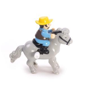 Clockwork Horse Riders - Random Designs - Wind Up Cowboy, Indian or Jockey - Mini Rider Thumbnail 8