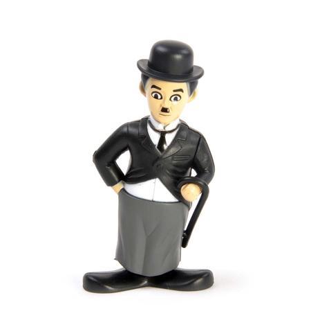 Clockwork Charlie Chaplin - Wind Up Silent Movie Icon