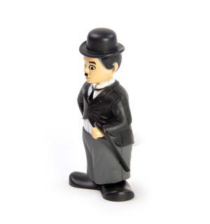 Clockwork Charlie Chaplin - Wind Up Silent Movie Icon Thumbnail 2