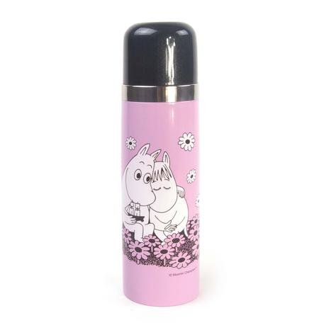 Moomin Love  Pink Vacuum Flask