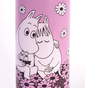 Moomin Love  Pink Vacuum Flask Thumbnail 2