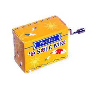 O Sole Mio - World Hits - Handcrank Music Box