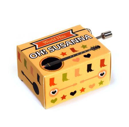 Oh! Susanna - World Hits - Handcrank Music Box