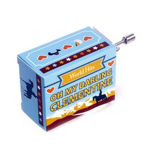 Oh My Darling Clementine - World Hits - Handcrank Music Box