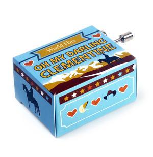 Oh My Darling Clementine - World Hits - Handcrank Music Box Thumbnail 2