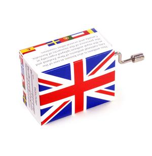British National Anthem - God Save the Queen - Handcrank Music Box Thumbnail 2