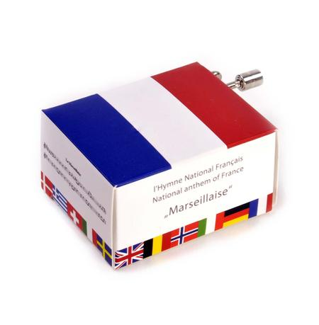 L'hymne national Francais - French National Anthem - Marseillaise - Handcrank Music Box
