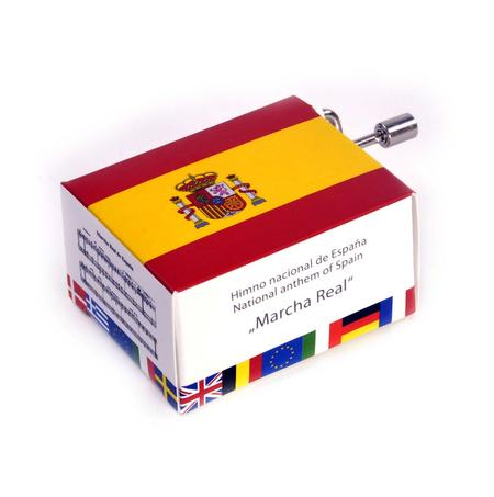Himno nacional de Espana - Spanish National Anthem - Marcha Real - Handcrank Music Box