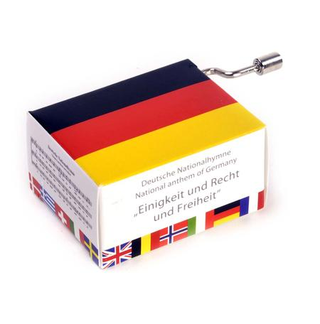 Deutsche Nationalhymne - German National Anthem - Einigkeit und Recht und Freiheit - Handcrank Music Box