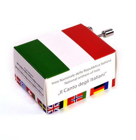 Inno Nazionale della Repubblica Italiana - Italian National Anthem - Il Canto degli Italiani - Handcrank Music Box