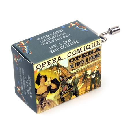 Gilbert & Sullivan - Pirates of Penzance - Love and Duty Overture - Handcrank Music Box