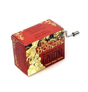 La boheme - Puccini - Teatro Regio Torino - Handcrank Music Box