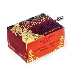 La boheme - Puccini - Teatro Regio Torino - Handcrank Music Box Thumbnail 2