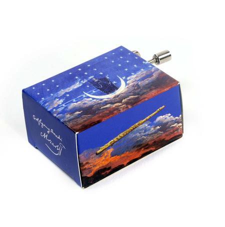 Wolfgang Amadeus Mozart - The Magic Flute - Handcrank Music Box