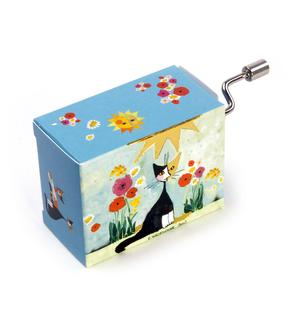 Art and Music - Rosina Wachtmeister - My Garden - Happy Birthday - Handcrank Music Box Thumbnail 1
