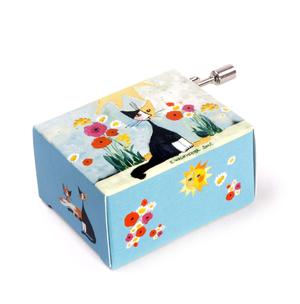 Art and Music - Rosina Wachtmeister - My Garden - Happy Birthday - Handcrank Music Box Thumbnail 2
