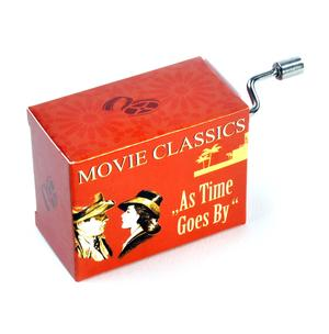 Movie Classics - Casablanca - As Time Goes By - Max Steiner - Handcrank Music Box Thumbnail 1