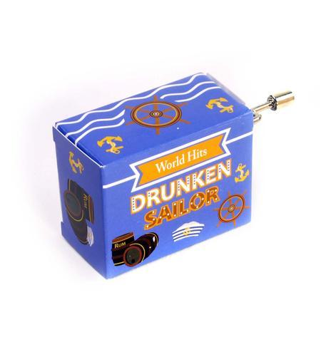 Drunken Sailor  - World Hits - Handcrank Music Box