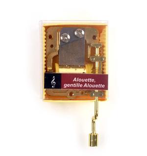 Alouette, gentille Alouette - Handcrank Music Box Thumbnail 1