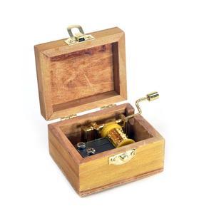 Wooden Mini Music Box - Art & Music - Mozart Portrait - Eine Kleine Nachtmusik / Night Music Thumbnail 3