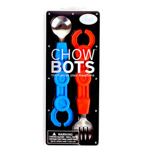 Chowbots - Robot Spoon And Fork Thumbnail 1
