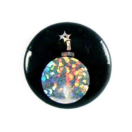 Bomb Badge - Holographic