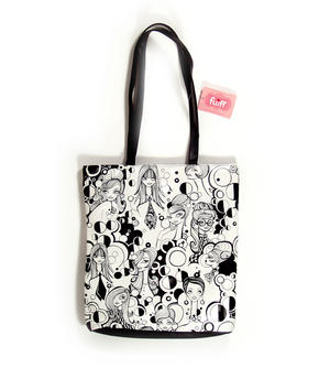 Mod Girl Tote Bag By Fluff Thumbnail 1