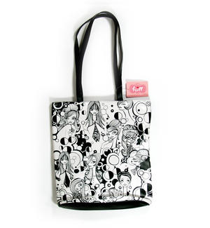 Mod Girl Tote Bag By Fluff Thumbnail 3