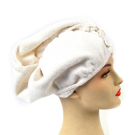 Girlfriend! Microfibre Hair Turban - White