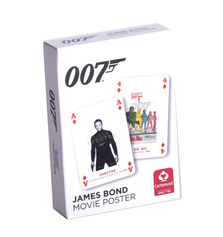 James Bond Movie Poster Cards